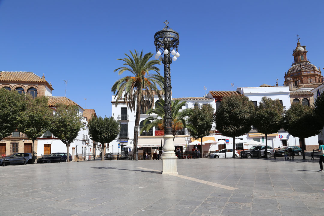 Carmona Plaza Fernandez Andalusien Spanien