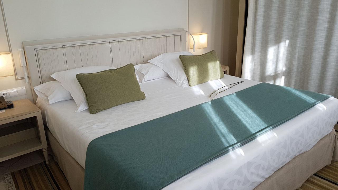 Hotel Balcon de Cordoba Schlafzimmer Andalusien Spanien