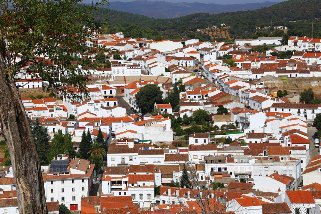 Aracena Andalusien Spanien