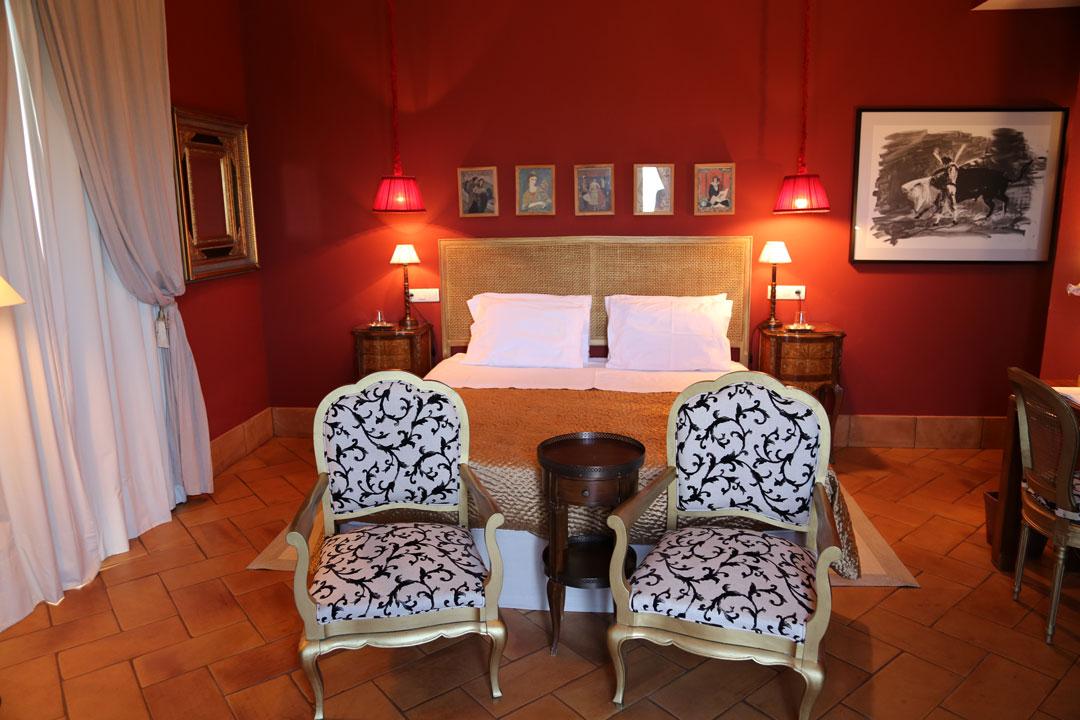 Casa Vesta Hotelzimmer Zufre Andalusien Spanien