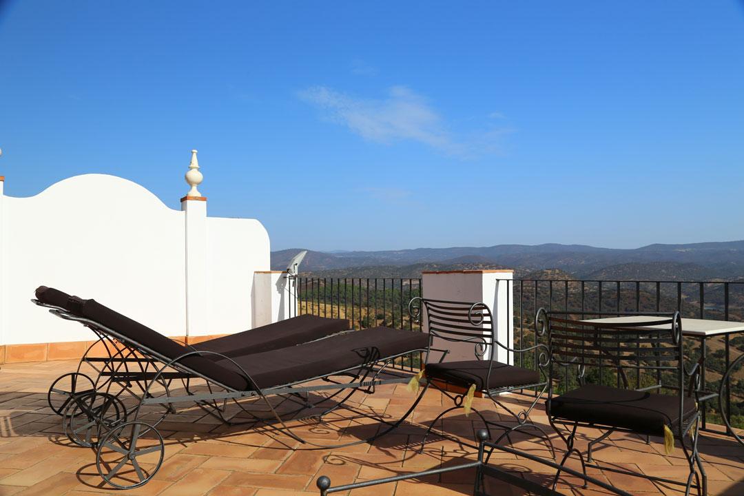 Casa Vesta Superior Room Terrasse Andalusien Spanien