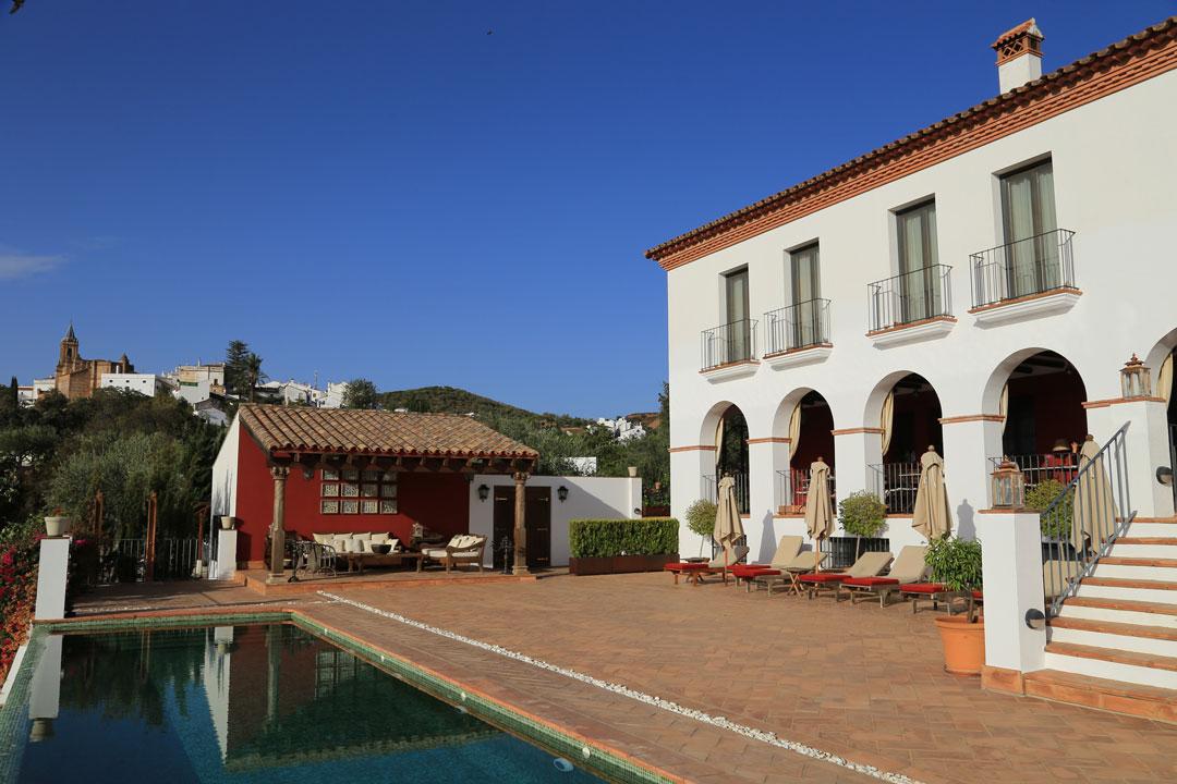 Casa Vesta Zufre Andalusien Spanien