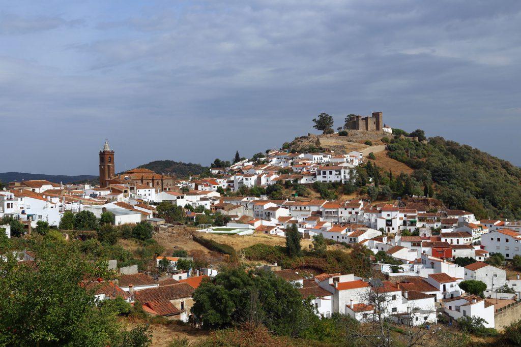 Dorf in Andalusien Spanien