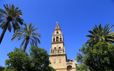 Grialda Glockenturm Cordoba Andalusien Spaniena