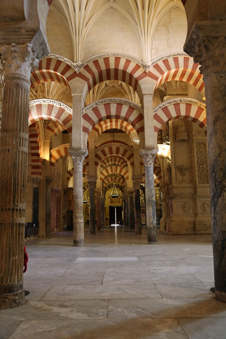 Mezquita Hufeisenbogen Cordoba Andalusien Spanien