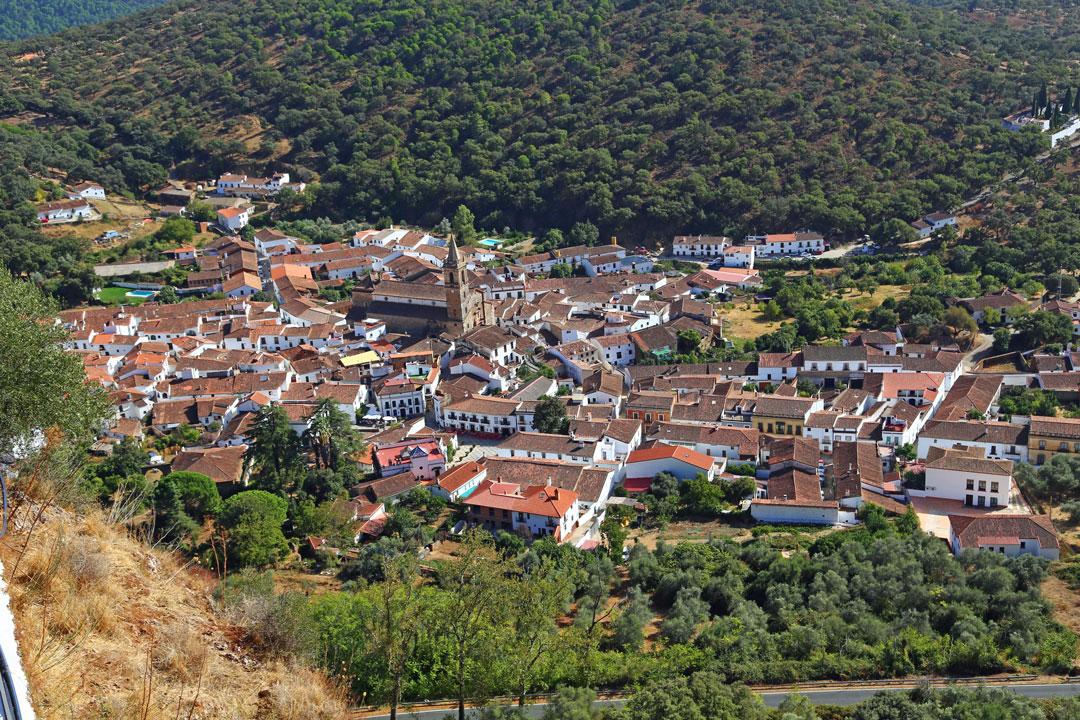 Alajar Adalusien Spanien