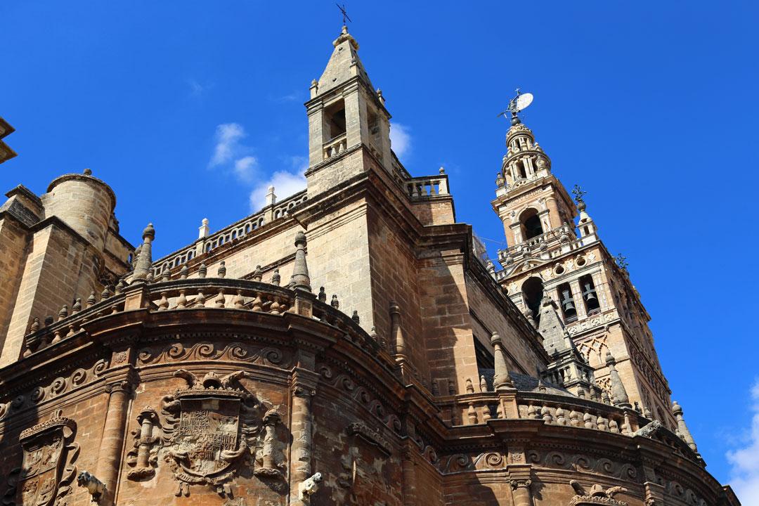 Kathedrale von Sevilla Andalusien Spanien