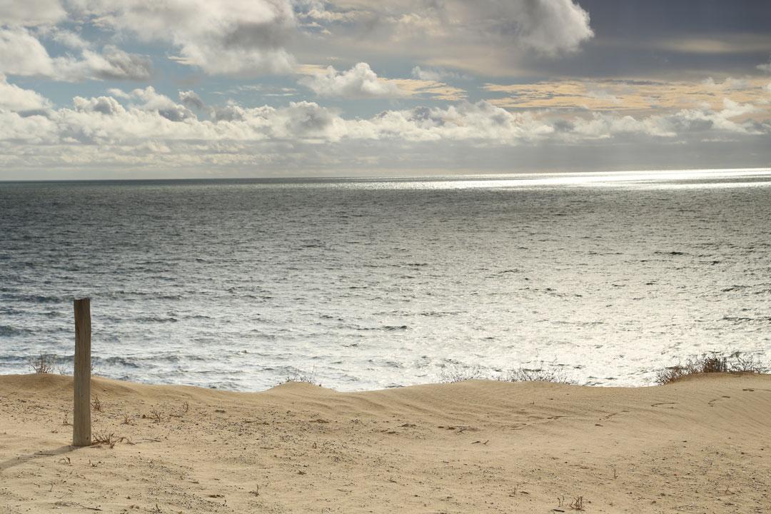 Nationalpark Coto de Donana Strand Andalusien Spanien