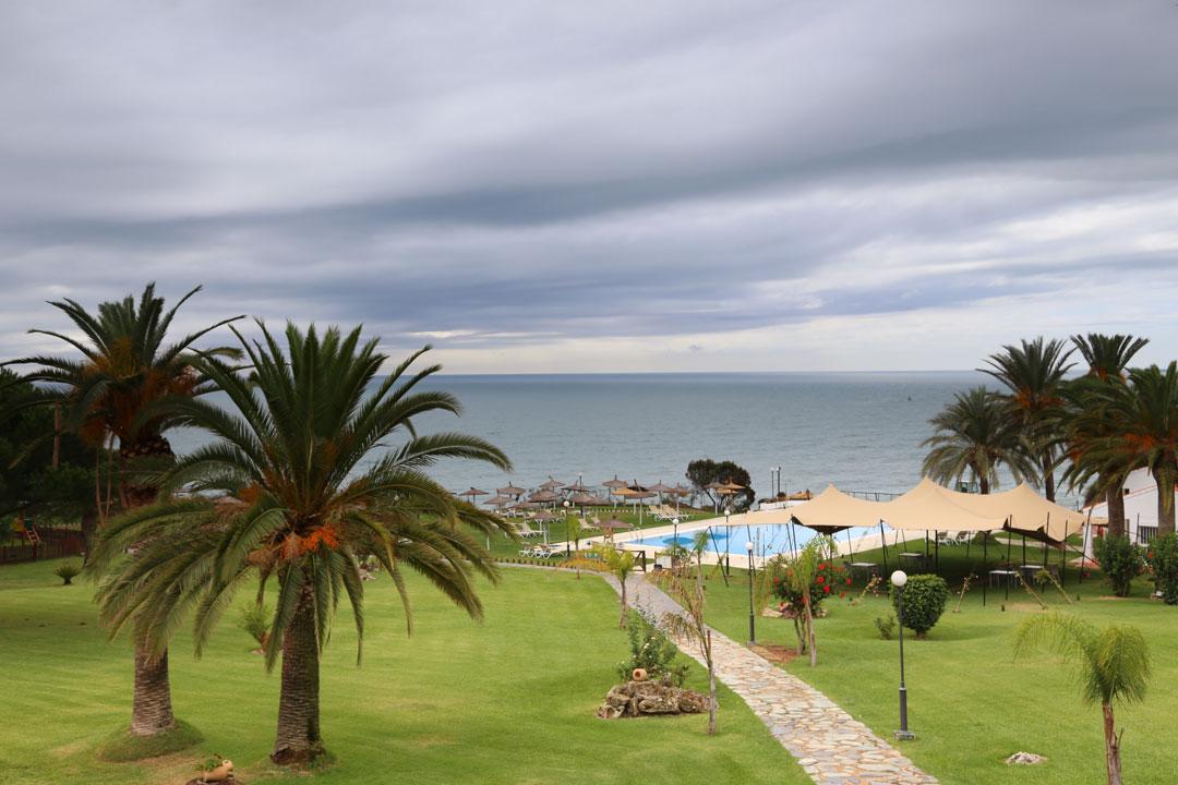 Parador de Mazagon Pool Andalusien Spanien