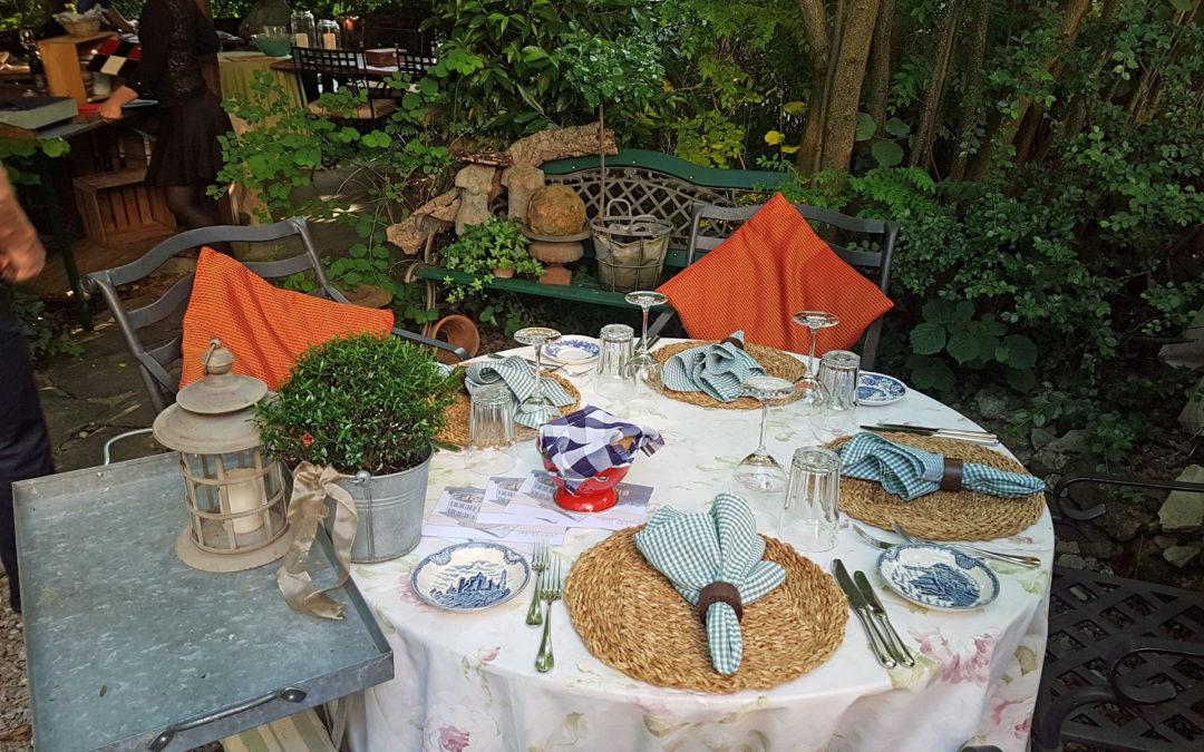 Dinieren im verwunschenen Garten des Bären – Birmenstorf