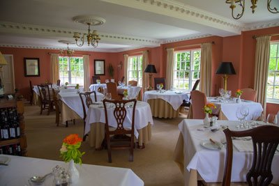 Restaurant Old Rectory Hotel Martinhoe Devon