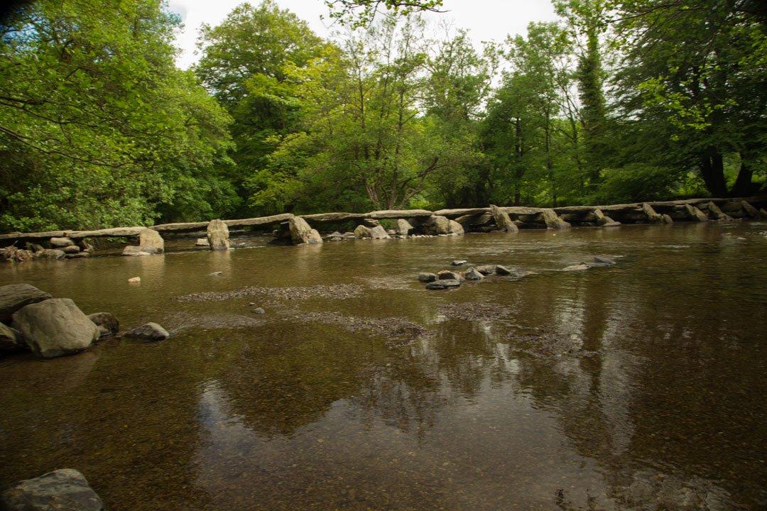 Tarr Steps Exmoor Nationalpark