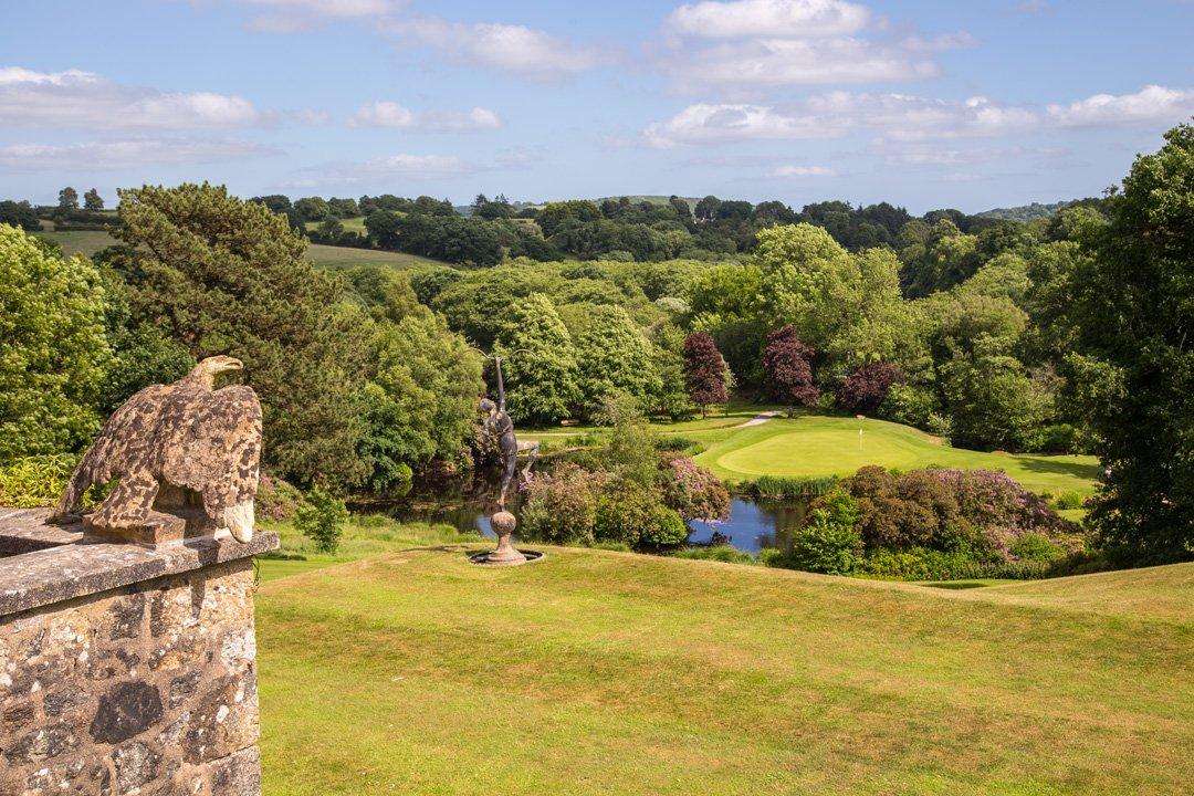 Bovey Castle Gartenanlage Dartmoor
