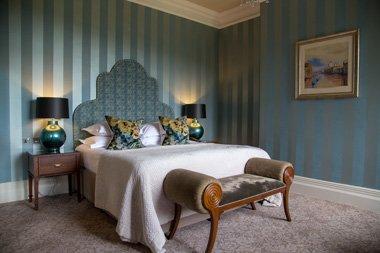 Bovey Castle Schlafzimmer Dartmoor