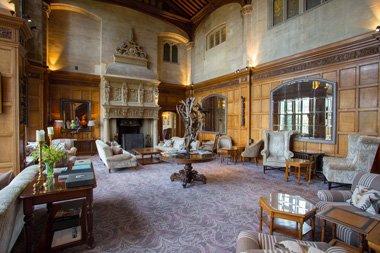 Bovey Castle Sesselzimmer Dartmoor