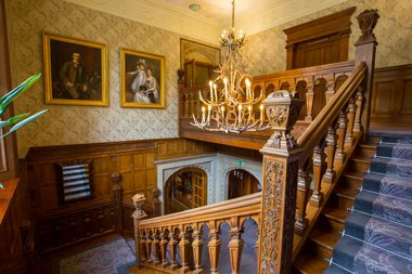 Bovey Castle Treppenhaus Dartmoor