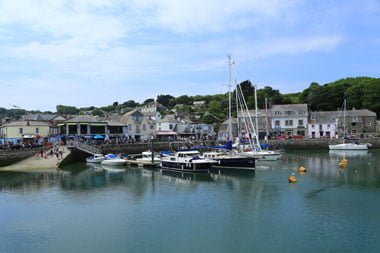 Padstow Hafen Cornwall