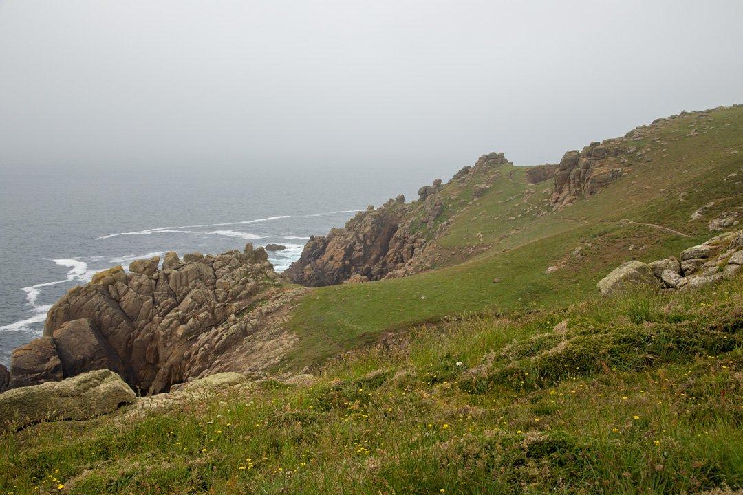 Porthgwarra Beach Küste Cornwall