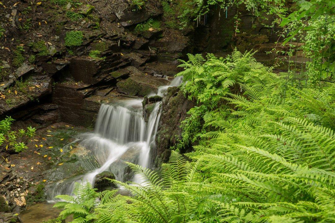 St Nectans Glen Wasserfall