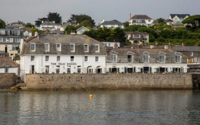 Idle Rocks St. Mawes – Relais Chateaux Hotel mit Hafenblick