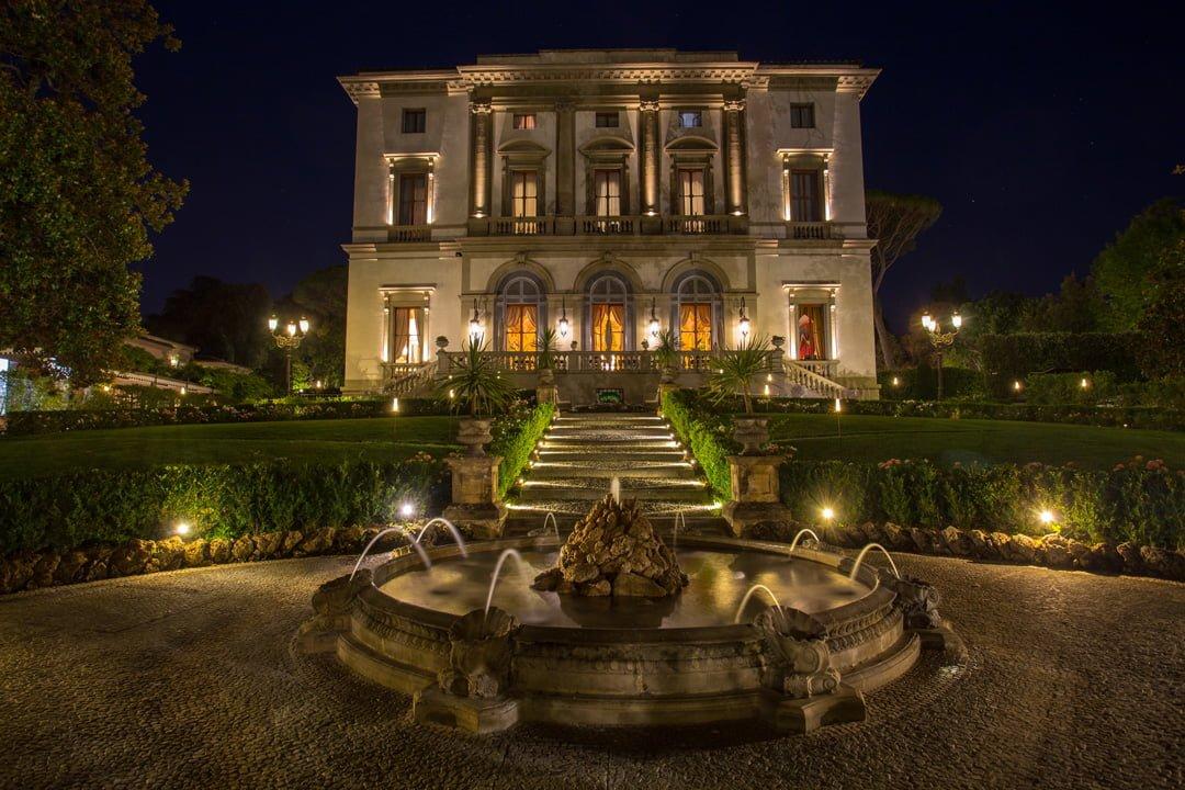 Villa Cora in Florenz