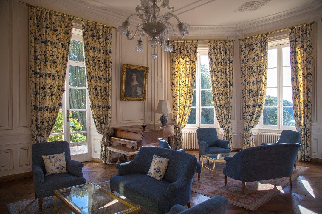 Aufenthaltsraum Chateau de Locguenole Kervignac