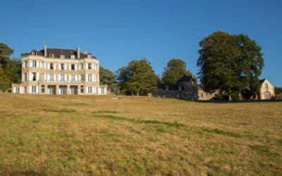 Château de Locguenole – in malerischer Umgebung eingebettet