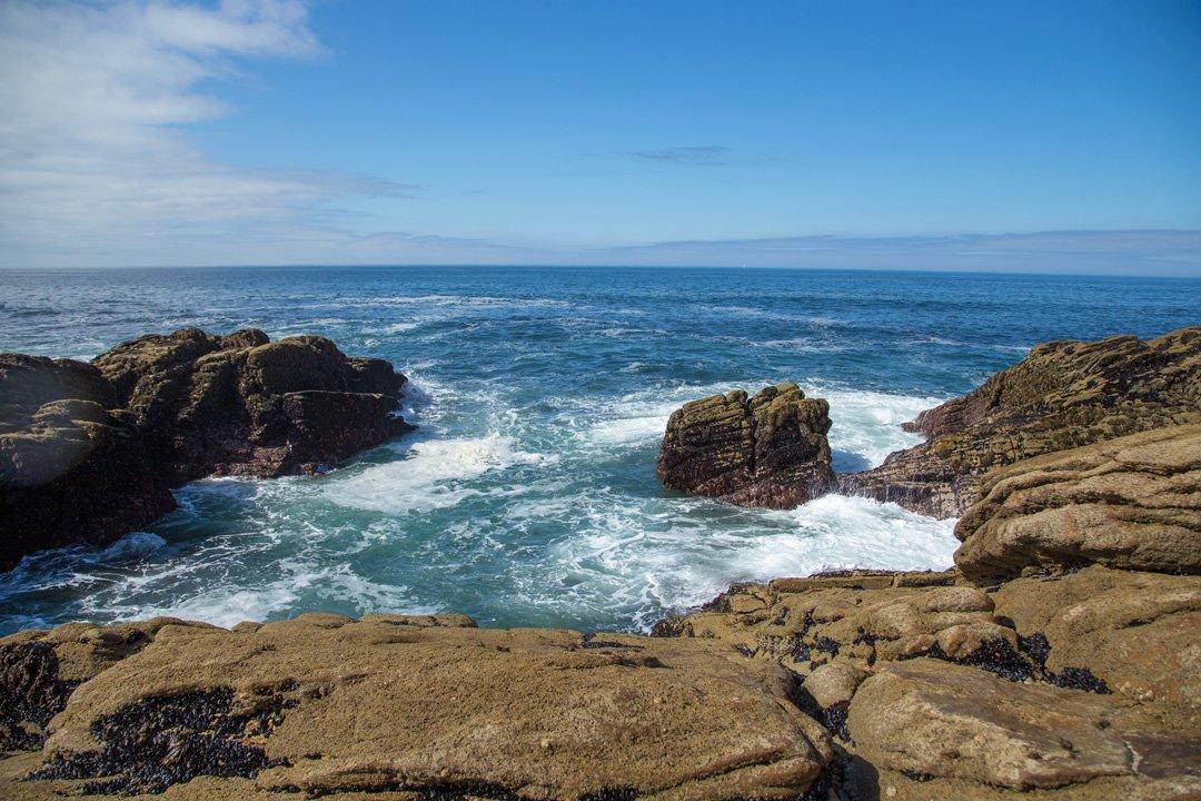 Küstenabschnitt Cote Sauvage Bretagne