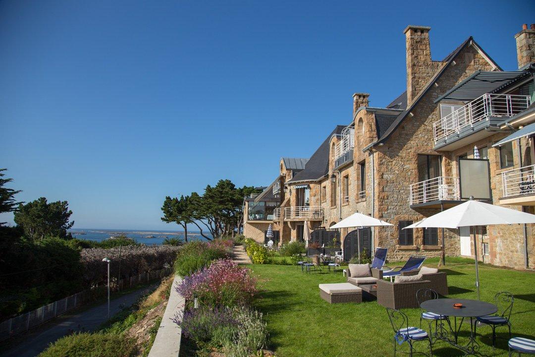 Relais Chateaux Hotel Manoir de Lan Kerellec Trébeurdin