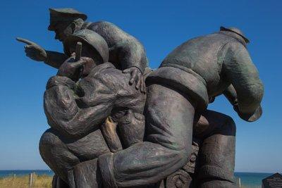 Navi Skulptur Utah Beach Normandie