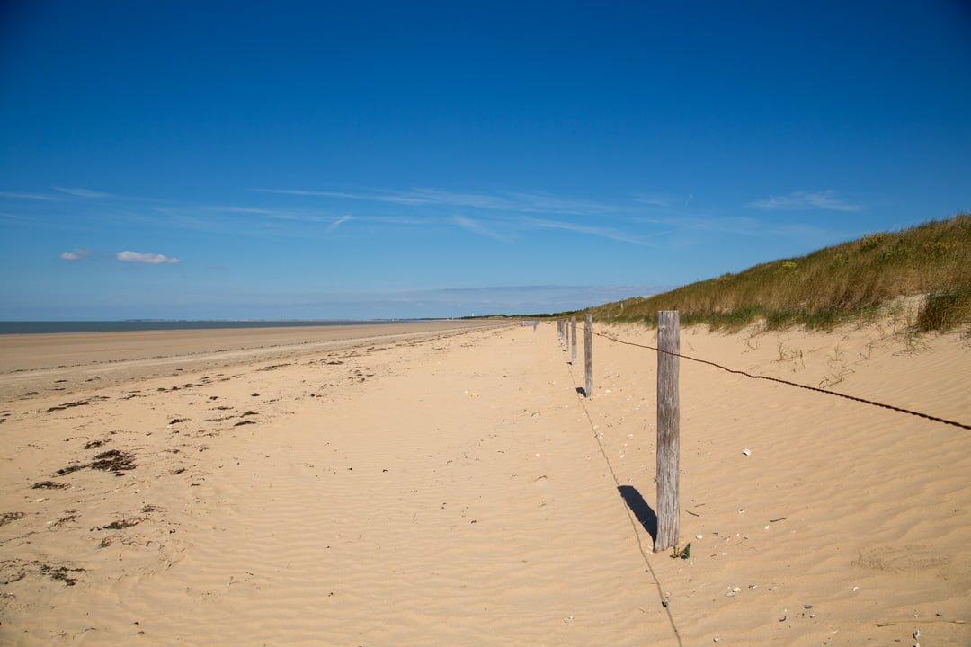 Strand bei Frometine Pays de la Loire