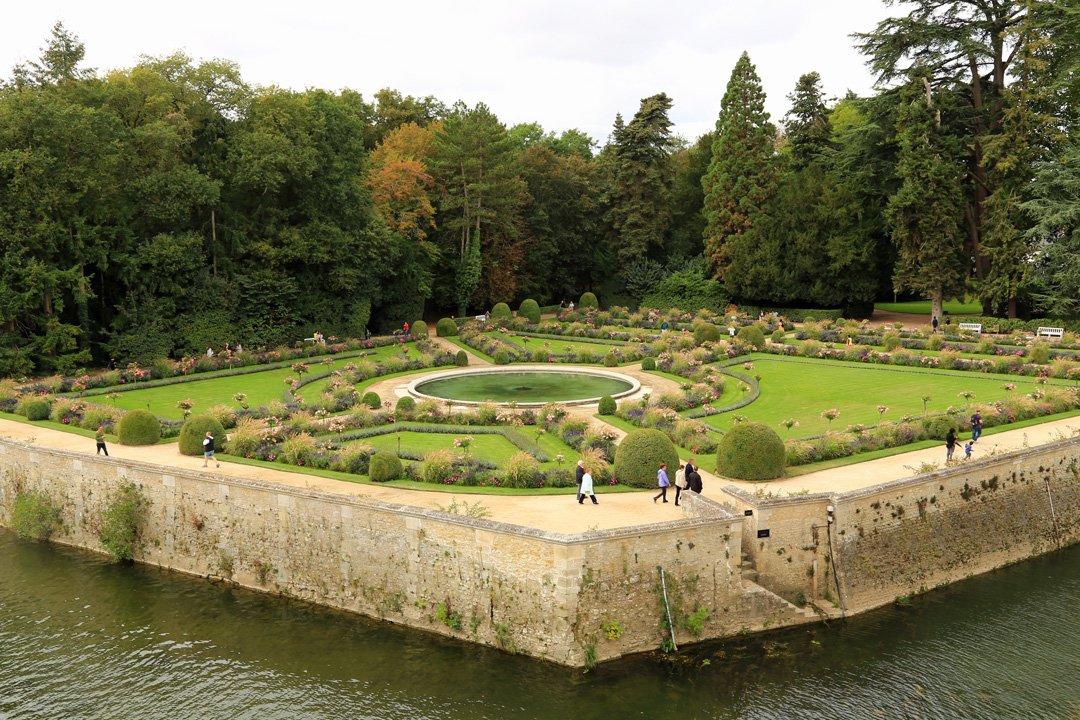 Château Chenonceau Gartenanlage Dianes de Poitiers