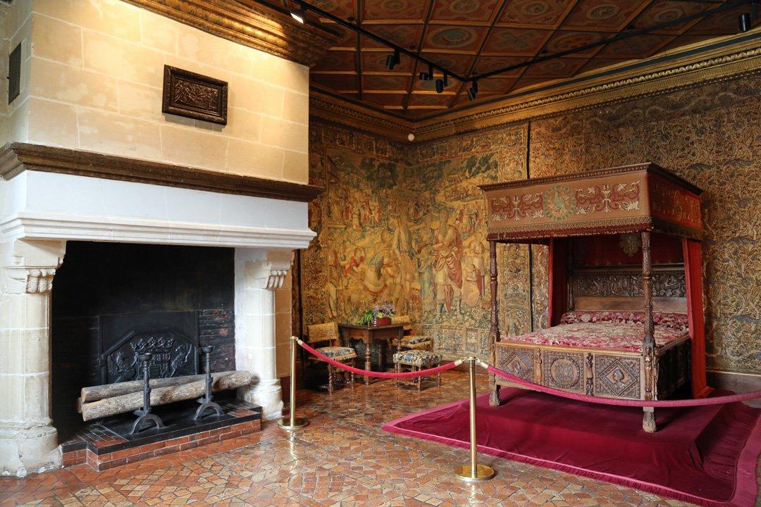 Château Chenonceau Schlosszimmer