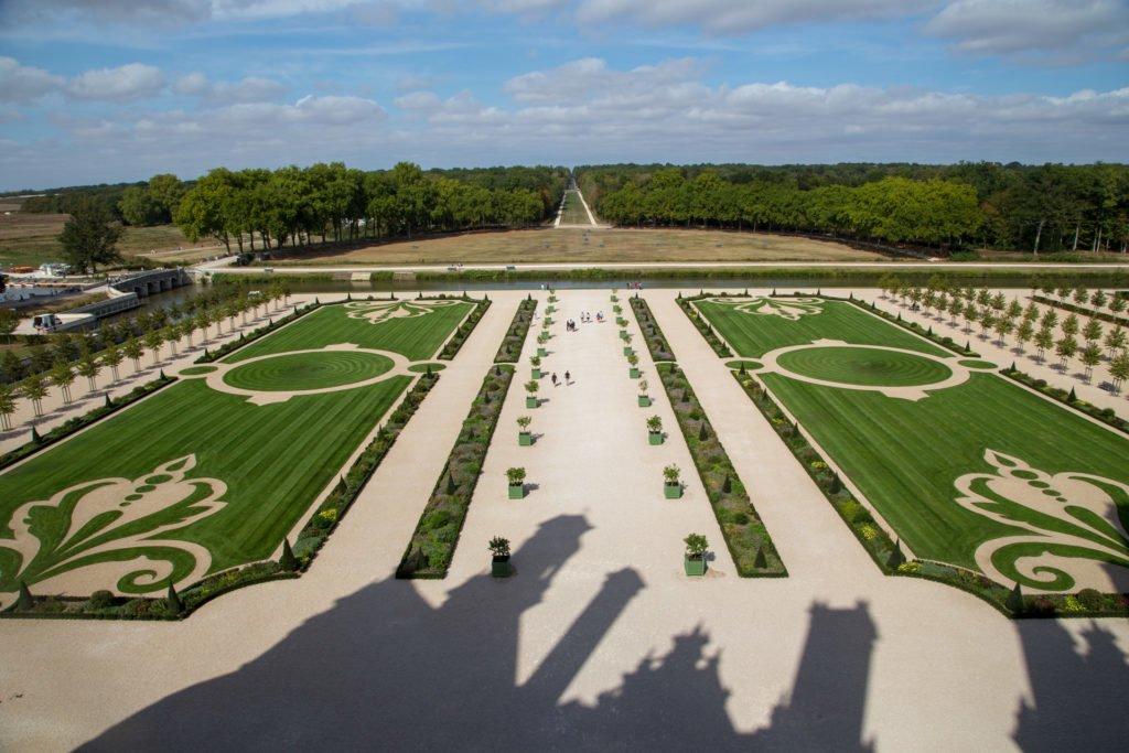 Loire Schloesser zwischen Tours und Blois