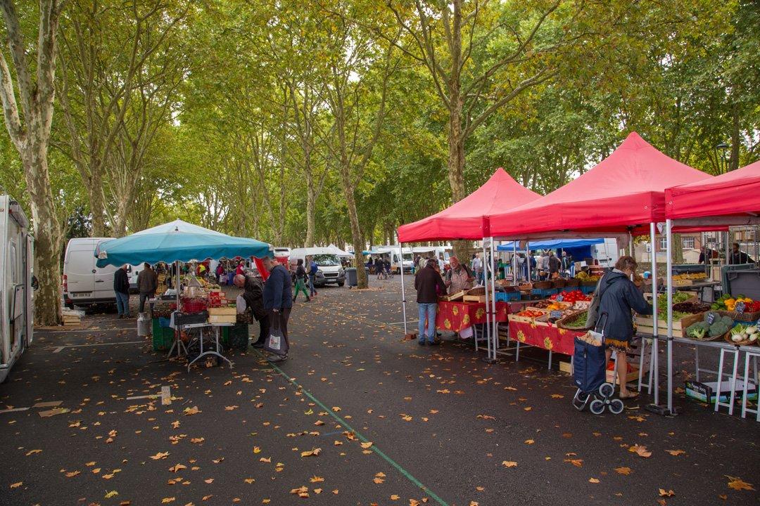 Markt in Ambrois Loiretal