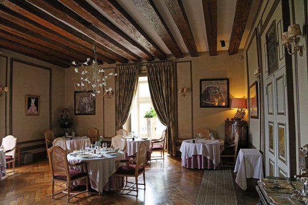 Restaurant im Chateau Noizay