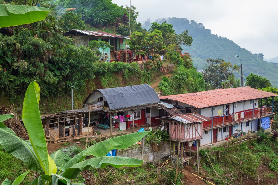Finca Kaffeeregion Perreira Kolumbien