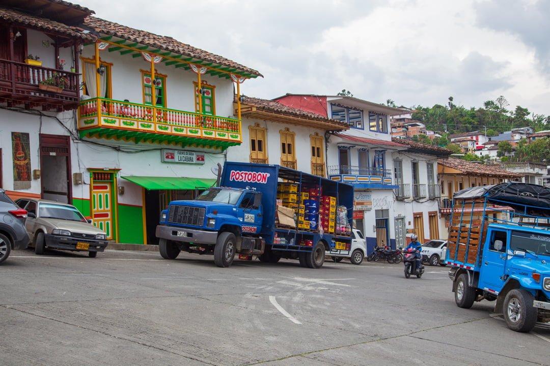 Bergdorf Apia Kolumbien