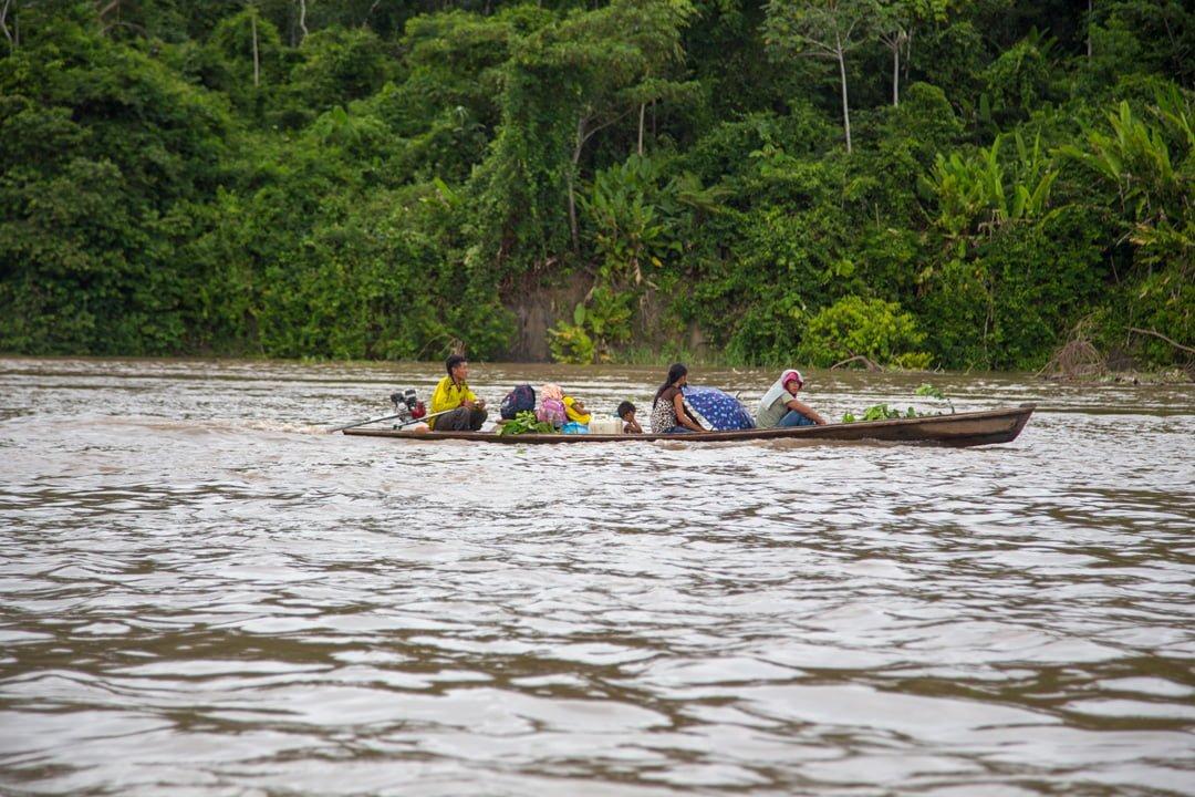 Bootsverkehr auf dem Amazonas