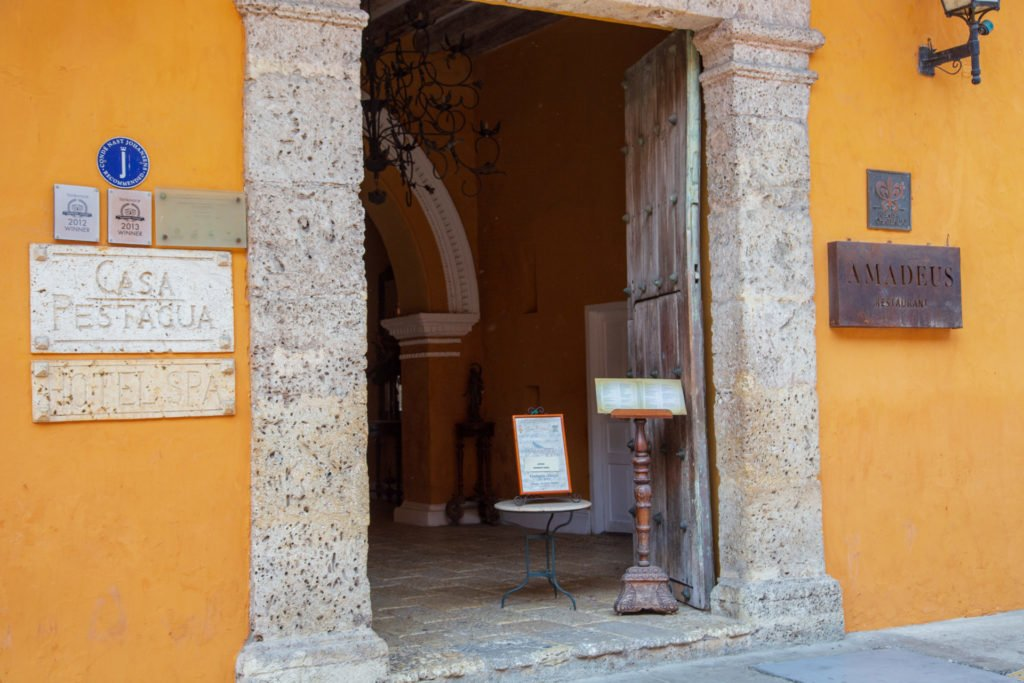 Casa Pestagua Relais Chateaux Hotel Cartagena Kolumbien
