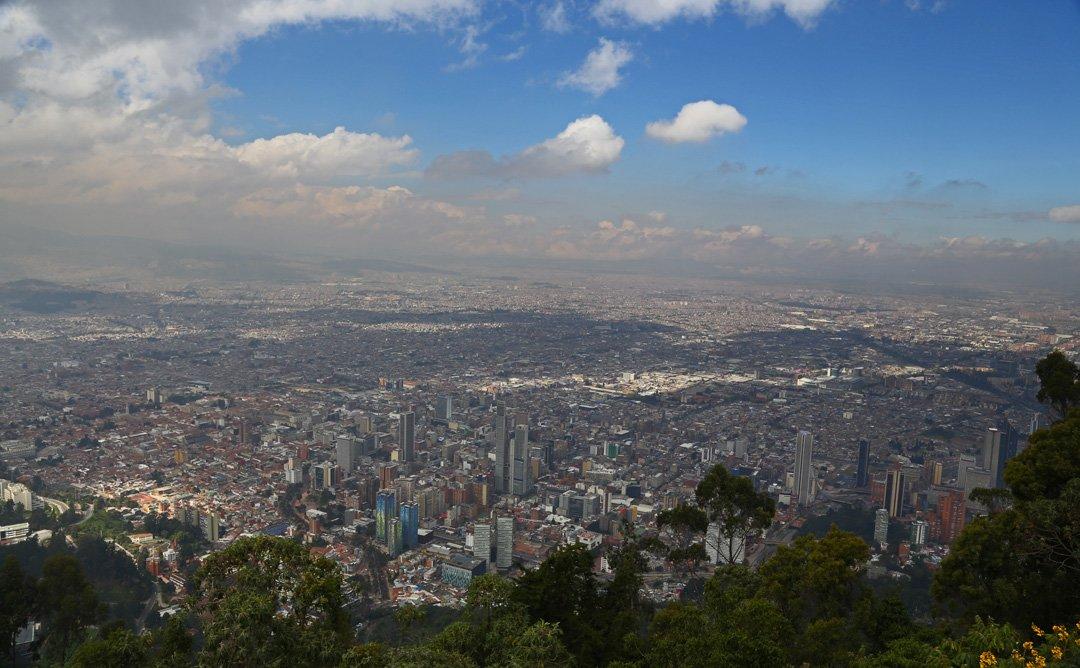 Hausberg Monsserat Bogota Kolumbien