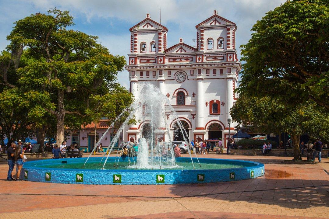 Kirche Guatape Kolumbien