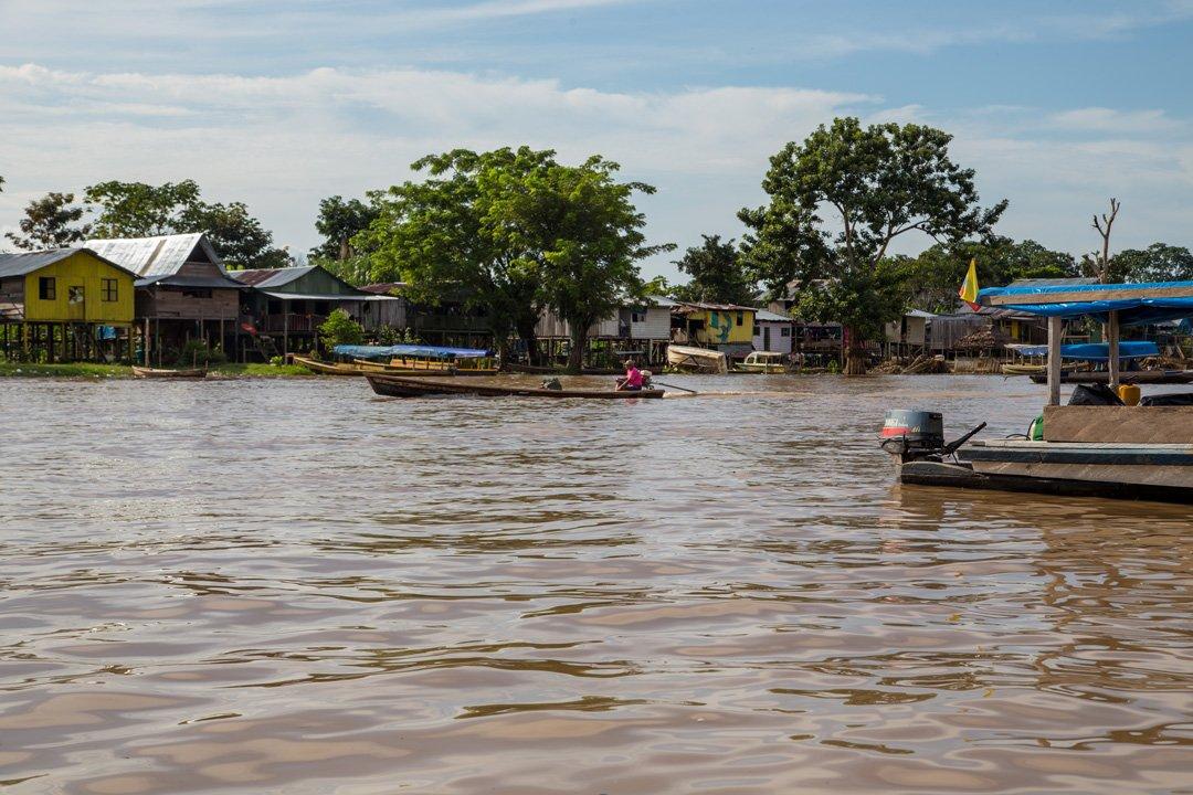 Leticia Boot auf Amazonas Kolumbien