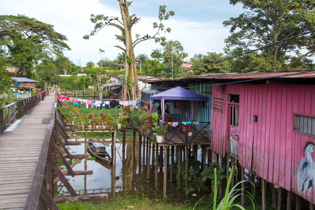 Leticia Steg Amazonas Kolumbien