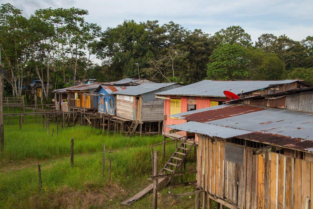 Leticia wohnen in der Nähe des Amazonas Kolumbien