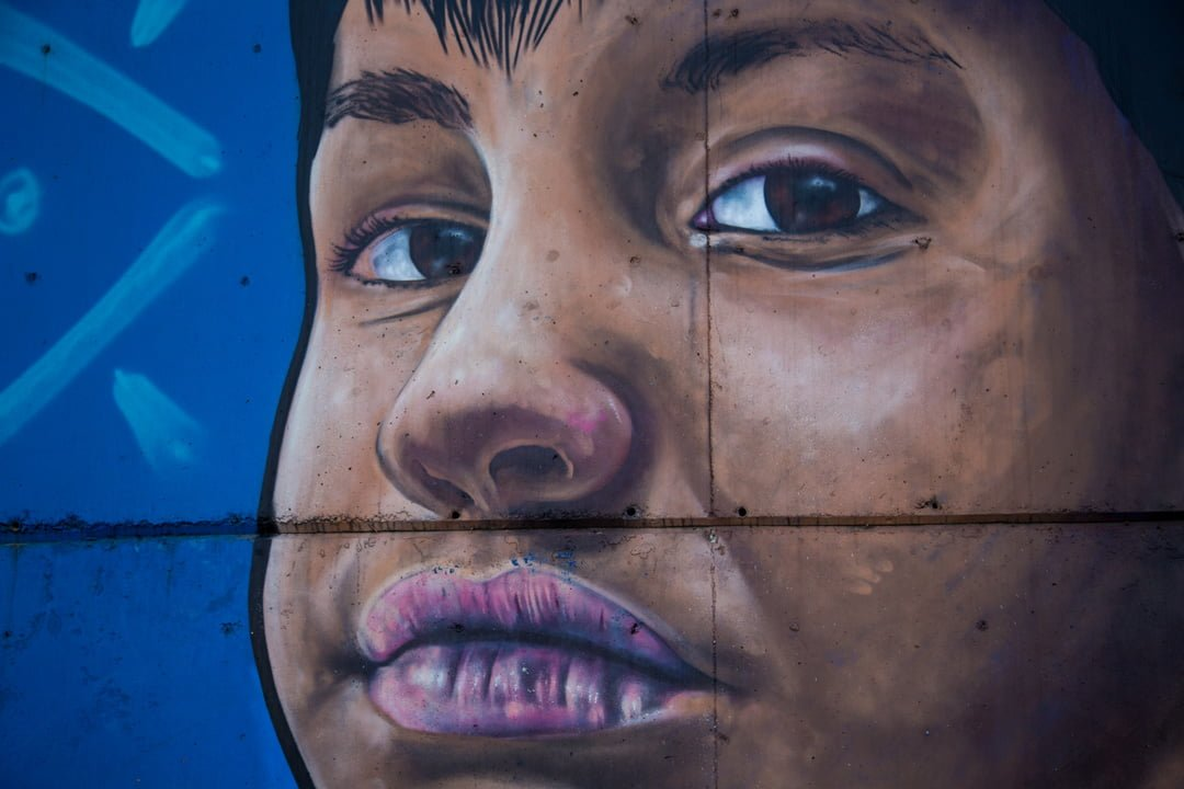 Medellin Comuna 13 Graffiti 2 Kolumbien