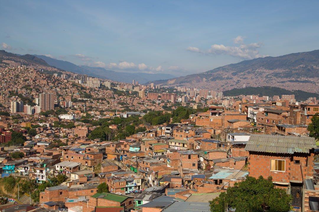 Medellin Comuna 13 Kolumbien