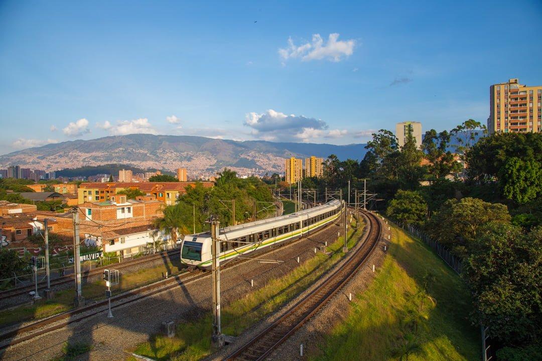 Medellin Metro Kolumbien