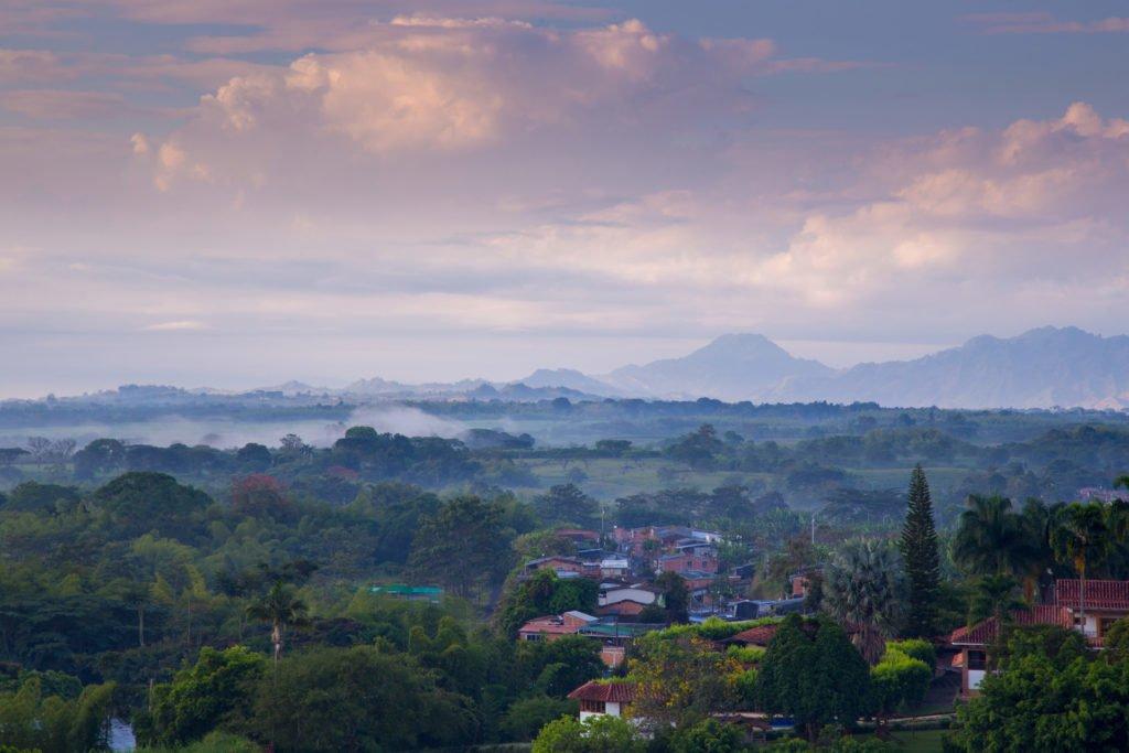 Pereira Kaffeeregion Kolumbien