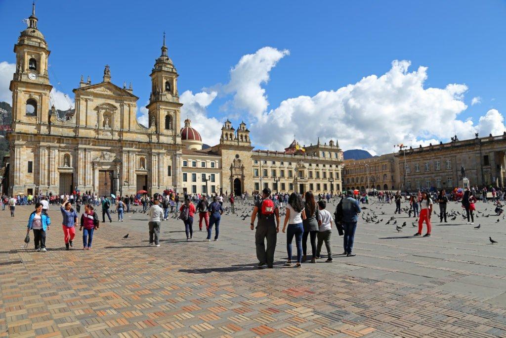 Plaza Bolivar Bogota Kolumbien